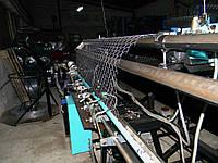 Станок-автомат для изготовления сетки рабицы, двухспиральный