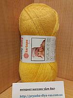 Детская полушерсть (30%-шерсть,20%-полиамид,50%-акрил; 50г/148м) Kartopu Woolly Baby K322(желтый)