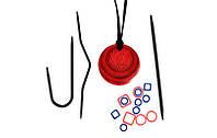 Набор:магнитное ожерелье и аксессуары для вязания Cherry Berry,KnitPro