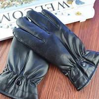 Женские кожаные перчатки. Модель 18301