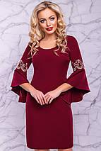 Женское нарядное платье с расклешенными рукавами (3031-3028-3029-3030 svt), фото 2
