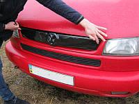 Зимняя решетка Volkswagen T4 верхняя (косые фары)