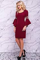 Женское нарядное платье с расклешенными рукавами (3031-3028-3029-3030 svt), фото 3