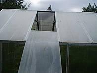 Как сделать теплицу с раздвижной крышей
