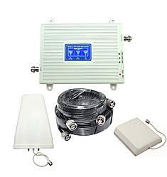 Усилитель мобильной связи 900МГц 1800МГц 2100 МГц  с панельной антенной