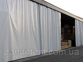 Шторы для склада из водо- морозостойкой ткани ПВХ (Испания)
