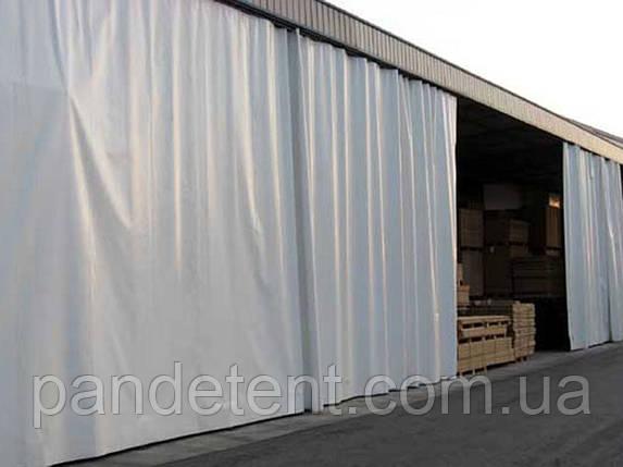 Шторы для склада из водо- морозостойкой ткани ПВХ (Испания), фото 2