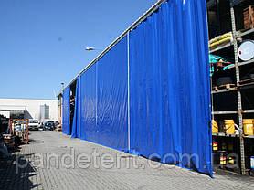 Шторы для склада из водо- морозостойкой ткани ПВХ (Испания), фото 3