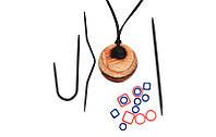 Набор:магнитное ожерелье и аксессуары для вязания Natural Hues,KnitPro