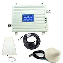 Усилитель мобильной связи 900МГц 1800МГц 2100 МГц  с круглой антенной
