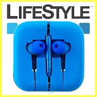 Наушники с микрофоном Xiaomi Piston М5 (9 цветов!) Синие