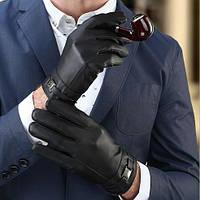 Мужские кожаные перчатки. Модель 18302
