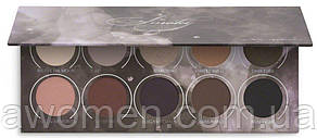 Тени для глаз Zoeva - Smoky Eyeshadow Palette (10 цветов)
