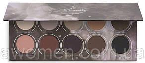 Тіні для очей Zoeva - Smoky Eyeshadow Palette (10 кольорів)