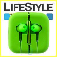 Наушники с микрофоном Xiaomi Piston М5 (9 цветов!) Зеленые