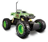 MAISTO TECH Автомодель на р/у Rock Crawler (аккум. 6v + 2хАА) зелёный