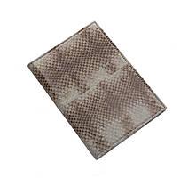 Обложка для паспорта  Ekzotic Leather Серая (snp01)