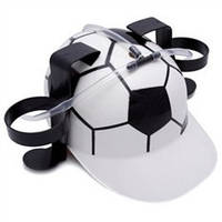 Шлем для пива футбол, футбольный шлем, фото 1