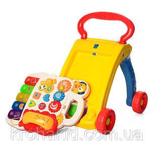 Каталка-ходунки музыкальные SY81 - детский развивающий игровой центр , фото 2