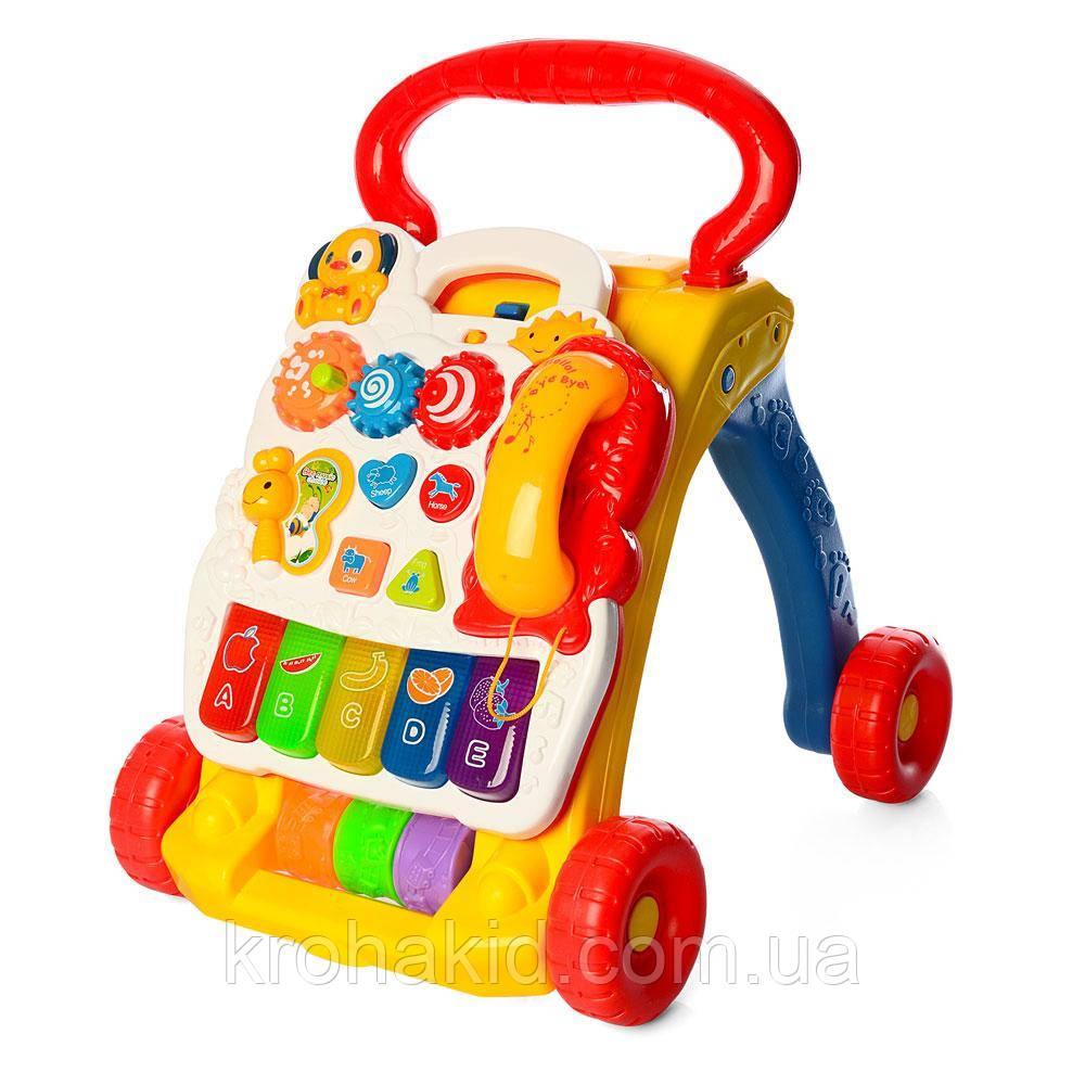 Каталка-ходунки музыкальные SY81 - детский развивающий игровой центр