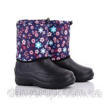 Сапоги женские зимние модные с цветочным принтом размеры 37-41 купить оптом со склада 7км Одесса