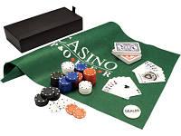 Набор для игры в покер и блэк-джек «Белладжио»: 2 колоды карт, фишки, игровое поле в подарочном футляре