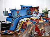 Комплект постельного белья подростковый Человек Паук хлопок 100%