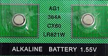 Батарейка для часов  SODA 364A CX60 LR621