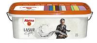 Лазур для декоративних інтер'єрів Alpina Effekt Lasur, 2,5 л (з ефектом срібла)
