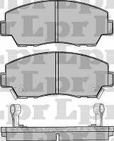 Тормозные колодки передние для Mazda 626 1.8-2.2 c 1989 по 1992