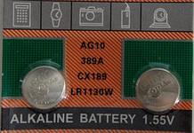 Батарейка для часов  SODA 389A CX189 LR1130
