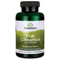 Препарат контроля сахара на основе корицы из Цейлона (Cinnamon Verum), 300 мг 120 капсул, фото 1