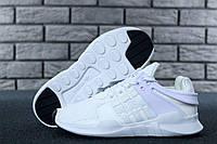 Женские кроссовки в стиле Adidas EQT White (Реплика ААА+), фото 1