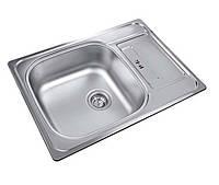 Кухонная мойка из нержавеющей стали UKINOX Grand GRL693.503 -GW8K декор