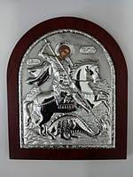 "Икона ""Георгий Победоносец"" 12,5 х 10,5 см, фото 1"