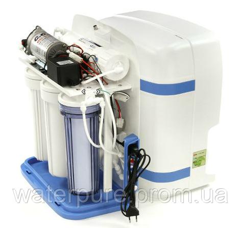 Очистка воды при помощи бытового фильтра на основе системы обратного осмоса
