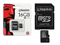 MicroSD Kingston Transcend 16Gb class 10 UHS-I, фото 1