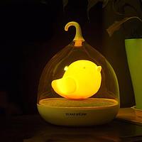 Ночник детский birdcage lamp LED Night Lamp Mini желтый