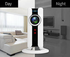 "IP Wi-Fi камера для помещений VR-360° ""СТАКАН с НОЖКОЙ"""