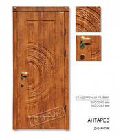 Входная дверь АНТАРЕС дуб антик, двери Страж
