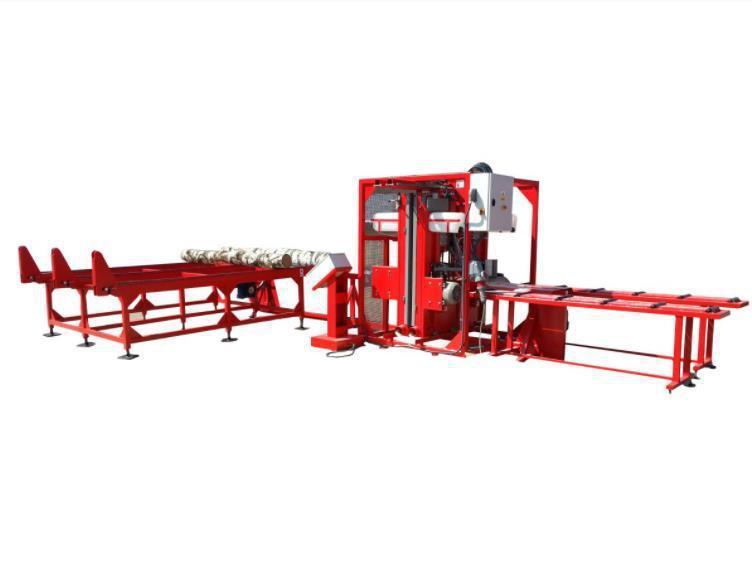 Ленточная вертикальная пилорама Trak-Met PRPn-4