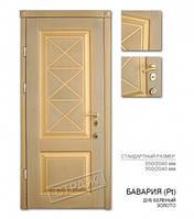 Входная дверь БАВАРИЯ патина дуб беленый золото, двери Страж