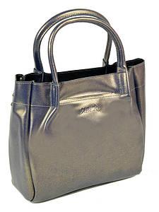 Женская сумка кожа ALEX RAI PD 10-04 8903 bright-grey