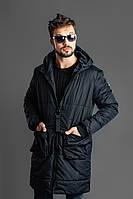Пальто мужское / плащевка, синтепон 200 / Украина, фото 1