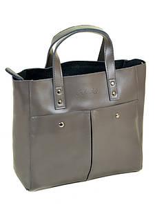 Женская сумка кожа ALEX RAI PD 10-04 8713 grey