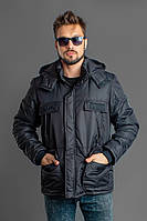 Куртка мужская / плащевка, синтепон 200 / Украина 47-1152, фото 1