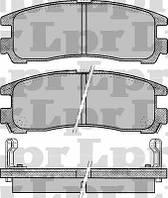 Колодки тормозные задние для Chrysler Avenger 2.0-2.5 с 1995 года выпуска