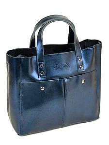 Женская сумка кожа ALEX RAI PD 10-04 8713 chromatic-blue