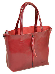 Женская сумка кожа ALEX RAI PD 10-04 8704 wine-red