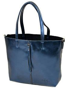 Женская сумка кожа ALEX RAI PD 10-04 8704 blue